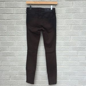 NEW Koral Coated Skinny Ombré Chocolate Jeans